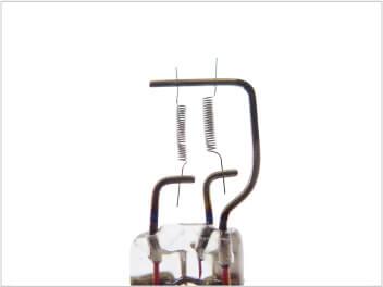 電球用ステム継線加工